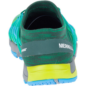 Merrell M's Bare Access Flex Knit Shoes Lime